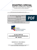 Gaceta Constitucional N 14