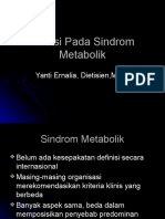 Nutrisi Pada Sindrom Metabolik