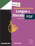 Lengua y Literatura III