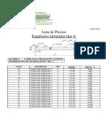 Lista de Precios 2015 HETMETAL