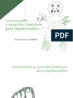Autocuidado y sanación feminista para ingobernables