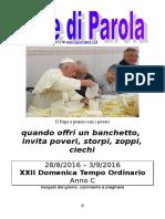 Sete di Parola - XXII settimana C 2016.doc