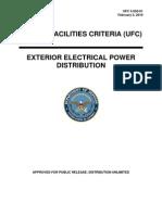ufc 3-550-01 exterior electrical power distribution (february 3, 2010)