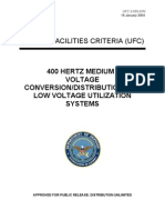 ufc 3-555-01n 400 hertz medium voltage conversion_distribution and low voltage utilization systems (16 january 2004)