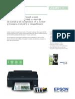 Epson Stylus SX100 - Brochures