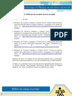 RESPUESTA Evidencia 11 Definicion de Conceptos Tecnicos en Ingles