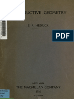 Hedrick - Constructive Geometry, Exercises in Elementary Geometric Drawing 1906