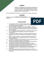 Contrato de Franquicia ECUADOR GUAYAQUIL