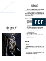 Alfa Romeo 147 Workshop Manual Various Guides