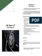 Alfa Romeo 147 Workshop Manual Various Guides