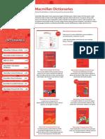 Macmillan Dictionaries - Brochures