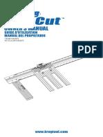 Kreg Rip-Cut - Instructions
