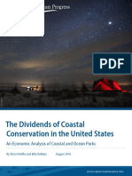 The Dividends of Coastal Conservation in the United States
