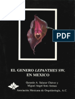 El Genero Lepanthes en Mexico