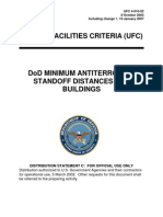 ufc 4-010-02 dod minimum standoff distances for buildings (fouo), includes change 1 (19 january 2007)