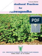 Good Agricultural Practices for Ashwagandha