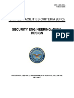 ufc 4-020-03fa security engineering - final design [fouo] (1 march 2005)