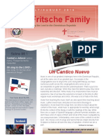 Fritsche Mission Newsletter - July & August 2016