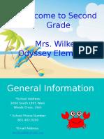 mrs  wilkes class disclosure