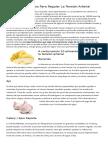 10 Alimentos Para Regular La Tensión Arterial