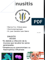 Sinusitis Otorrinolaringología