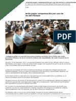 Servindi - Servicios de Comunicacion Intercultural - Peru Pluspetrol Acuerda Pagar Compensacion Por Uso de Tierras a Comunidades Del Pastaza - 2013-09-16