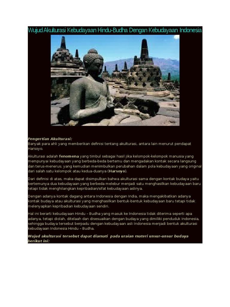 Akulturasi Animisme Hindu