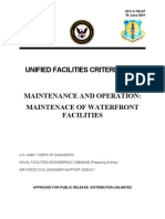 ufc 4-150-07 maintenance and operation -  maintenance of waterfront facilities (19 june 2001)