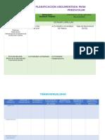Planeacion Argumentada Ejemplo de Formato