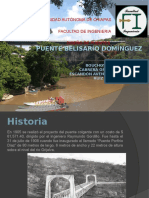 Puente Belisario Domínguez Presentación 23Agosto