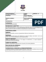 14 Syllabus Documentacion Tecnica