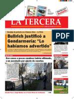 Diario La Tercera 25.08.2016