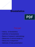 Biostatistics and Orthodontics