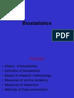 Biostatistics and Orthodontics