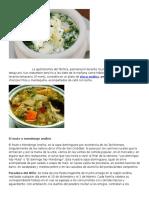La Gastronomía Del Táchira