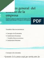 Analisis General Del Entorno de La Empresa