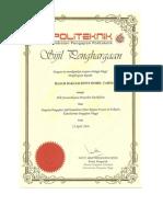 sijil penandarasan terkini