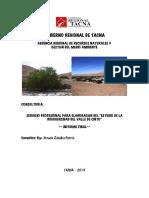 Estudio Biodiversidadvalle de Cinto