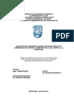 EVALUACIÓN DEL DESEMPEÑO LABORAL BASADO EN PERFIL POR COMPETENCIA DEL PERSONAL ADMINISTRATIVO CASO