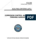 ufc 4-211-02nf corrosion control and paint finishing hangars, with changes 1-4 (1 april 2010)