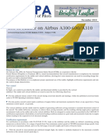 Use of Rudder on A300-600 & A310