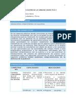 FCC Planificación Unidad 1 4to Grado 1