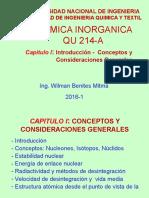 1. Cap 1 Introduccion Conceptos Consideraciones Generales-Radiactividad 31 Marzo 2016 1 WBM