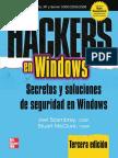 Hackers 3 en Windows Secretos y Soluciones de Seguridad en Windows