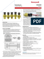 Honeywell Sensing Px3 Series