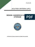 ufc 4-451-10n design - hazardous waste storage (16 january 2004)