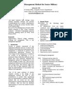 Define Key Management Method for Secure Military