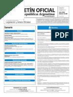 Boletín Oficial de la República Argentina, Número 33.446. 24 de agosto de 2016
