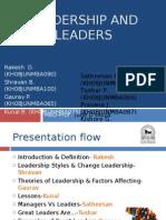 Leadership & Leaders 080209