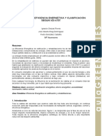 1. Ascensores. Eficiencia Energética y Clasificación Según Vdi 4707